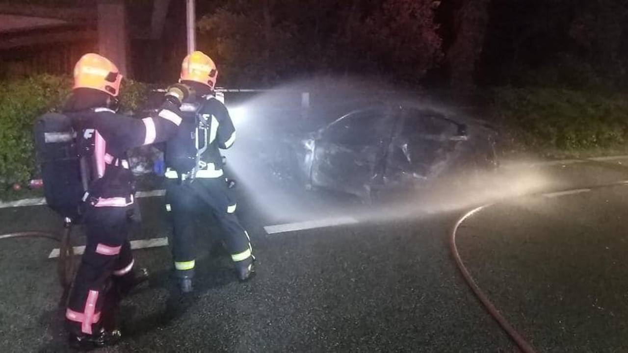 7-taken-to-hospital-after-fire,-multiple-vehicle-accident-along-cte