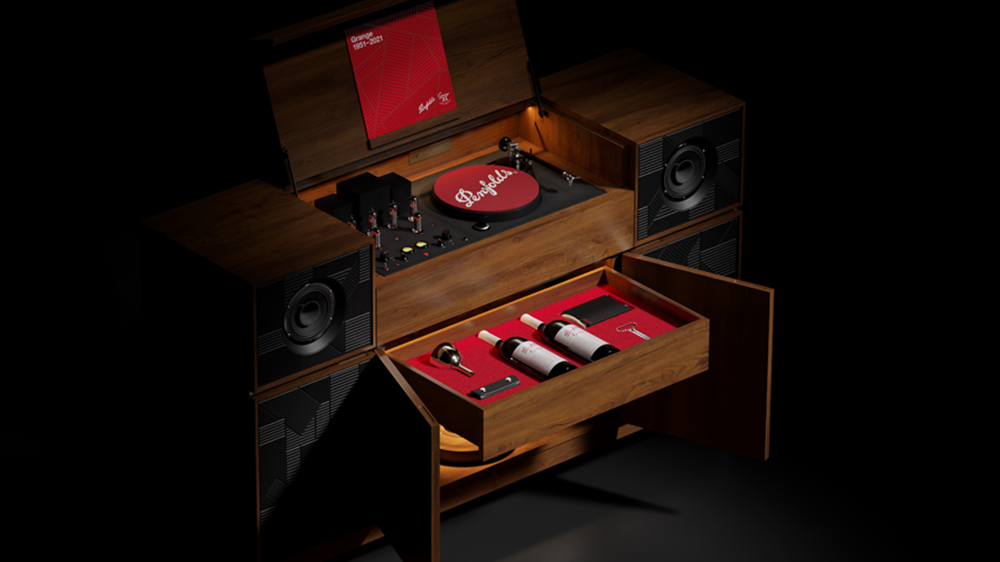 penfolds-just-debuted-a-limited-edition-record-player-with-a-secret-drawer-for-wine