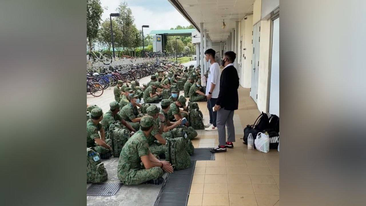 saf-commander-to-be-disciplined-after-addressing-recruits-in-public-with-mask-tucked-under-chin