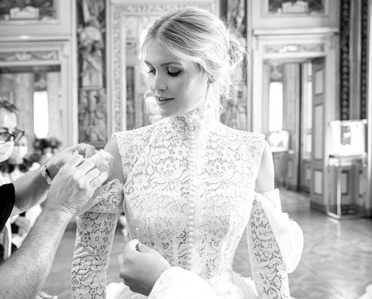 weekend-vows:-wearing-a-dolce-&-gabbana-gown-that-was-'beyond-her-wildest-dreams,'-lady-kitty-spencer-weds-michael-lewis